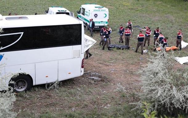 У Туреччині перекинувся автобус: вісім загиблих