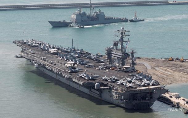 США направили третій авіаносець до берегів КНДР