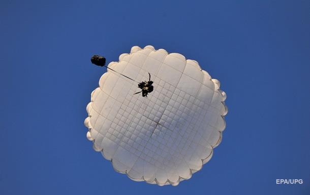 В США погиб военный из-за нераскрывшегося парашюта