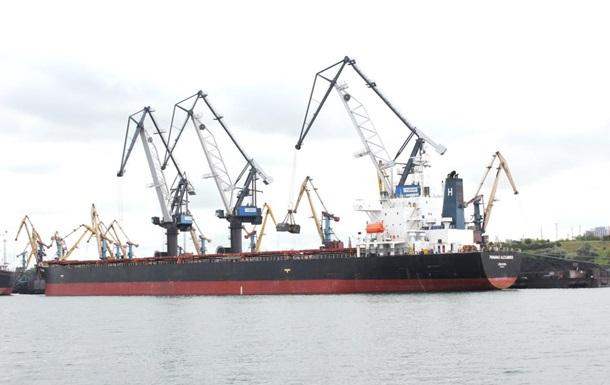 Порт Южний достроково розвантажив перше судно з вугіллям із ПАР