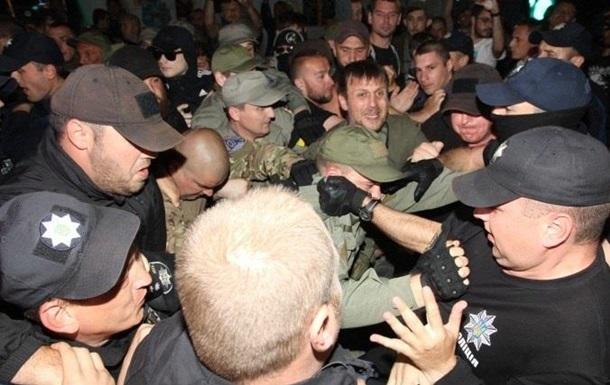 З явилося відео бійки перед концертом Лободи