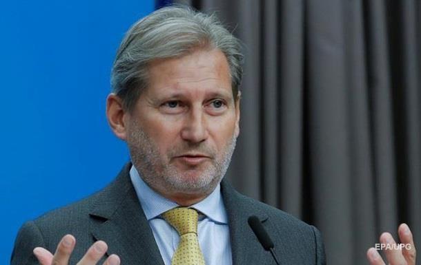 Єврокомісар Хан відвідає Україну