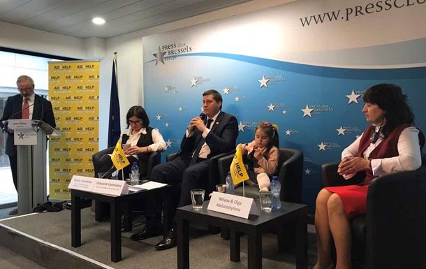 Гуманитарный штаб Ахметова и семья переселенцев в Брюсселе рассказали о Донбассе