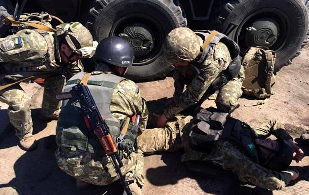 Загострення в АТО: Один воїн загинув, п ятеро поранені
