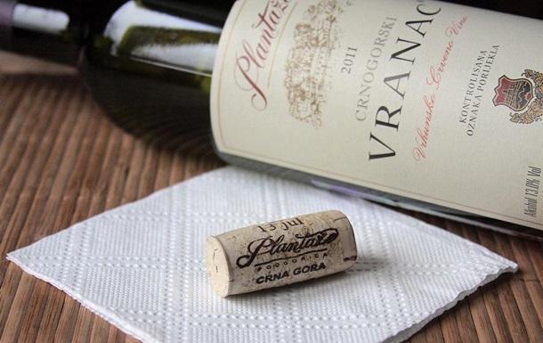 У Росії заарештували понад 30 тисяч пляшок вина з Чорногорії