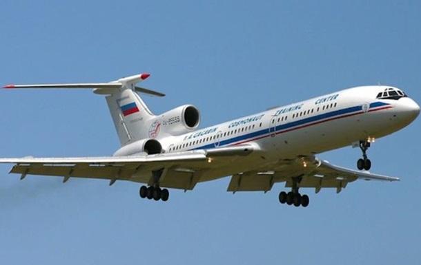 Росія назвала причину аварії Ту-154 над Сочі
