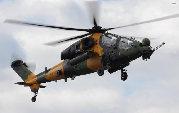 У Туреччині розбився військовий вертоліт
