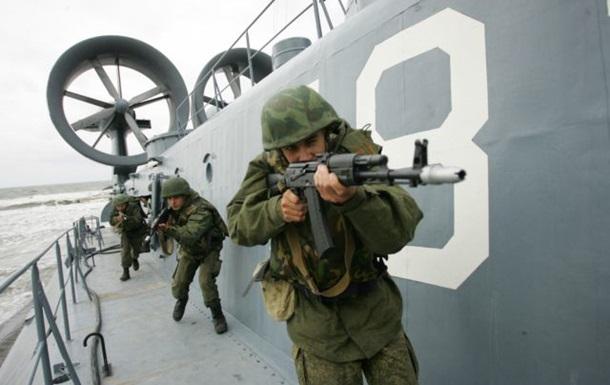 Морпіхи Чорноморського флоту РФ підняті за тривогою