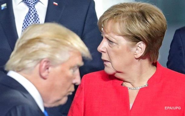 Погана Німеччина. Причина сварки Трампа і Меркель