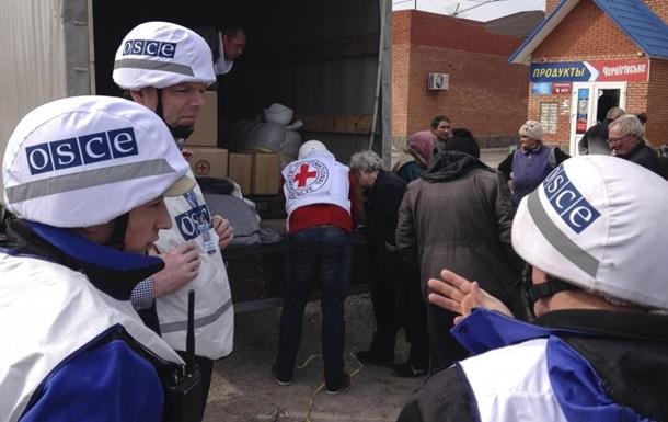ОБСЄ: Кількість порушень тиші на Донбасі зросла