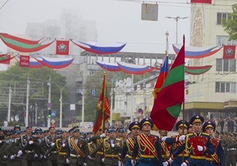 Российские оккупационные войска в Молдове