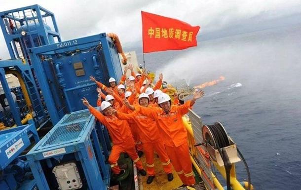 Китай оцінив запаси газогідратів у 80 млрд тонн