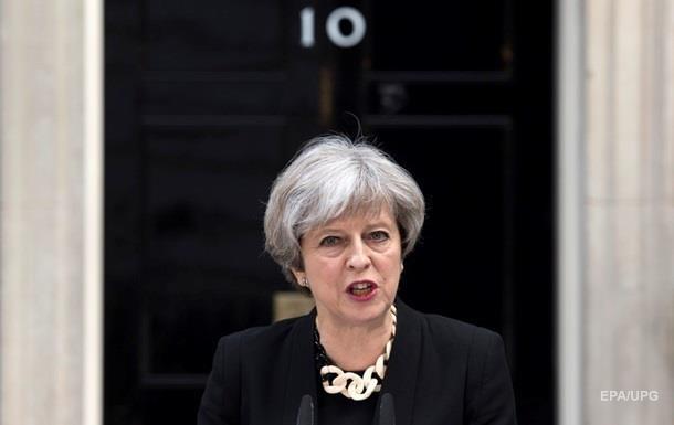 Мэй: Террористическая угроза в Британии сохранится на серьезном уровне