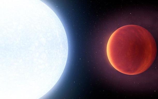 Вчені виявили найгарячішу планету