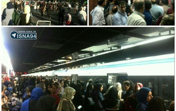 У метро Тегерана зіткнулися два потяги