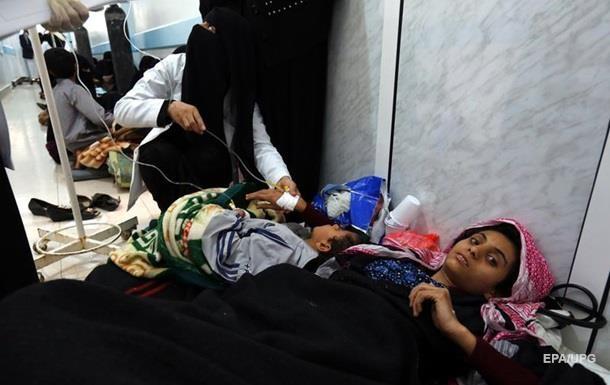 В Ємені від спалаху холери померли майже 800 людей