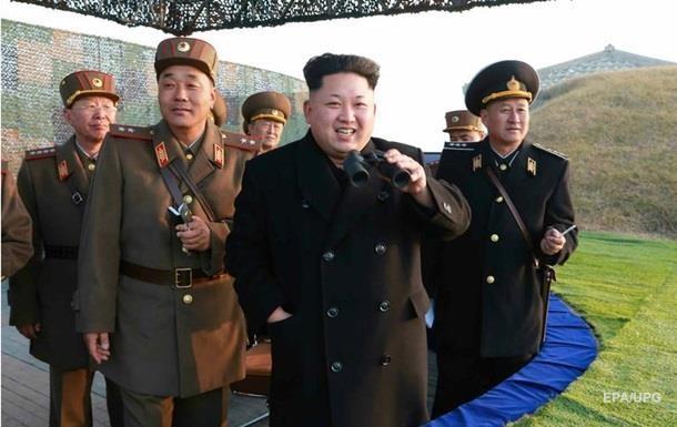 Ким Чен Ын лично наблюдал за испытанием противокорабельных ракет