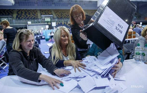 Обнародованы итоги выборов в Британии