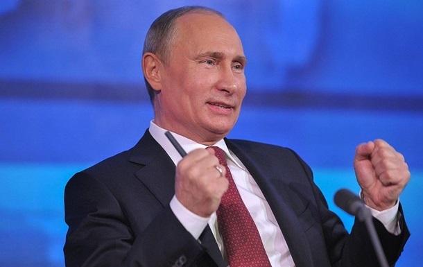 Путін розповів про онуків в інтерв ю