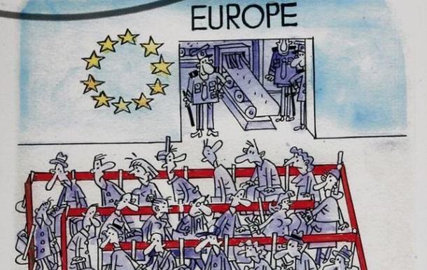 Безвиз Украина - ЕС