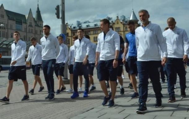 Финляндия - Украина футбольный матч