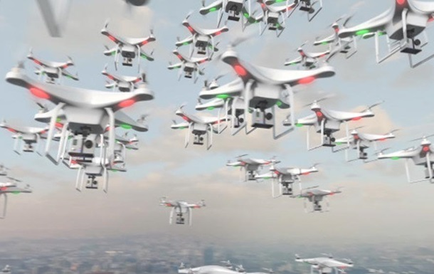 Китай поднял в воздух рекордный рой дронов