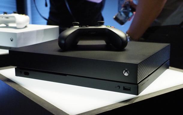 Microsoft представила мощнейшую консоль Xbox One X