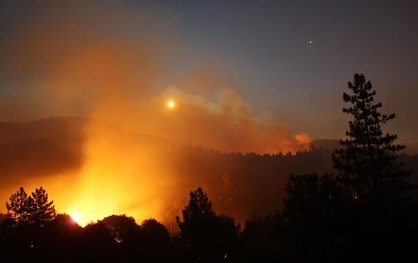 В части регионов чрезвычайная пожарная опасность