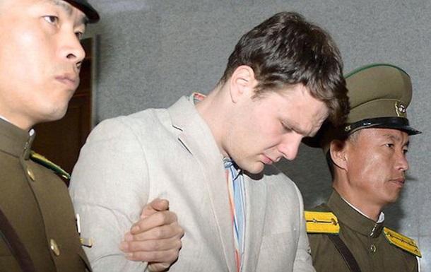 КНДР освободила приговоренного к 15 годам студента США