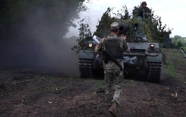 Доба в АТО: один боєць загинув, семеро поранені