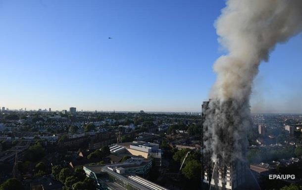 Пожежа в Лондоні: постраждали 30 осіб