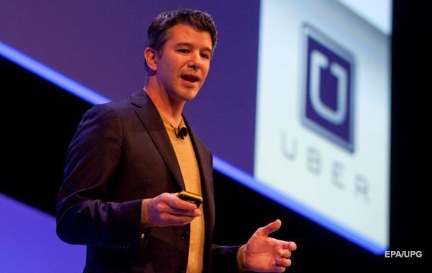 Глава Uber відійшов від справ на невизначений термін