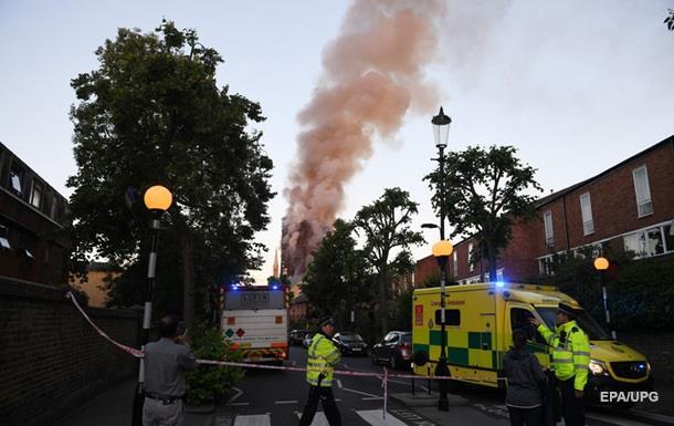 Пожежа в Лондоні: з явилися перші жертви
