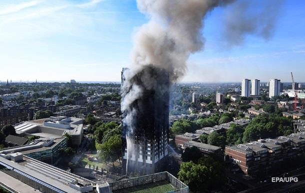 Жертвами пожара в Лондоне стали шесть человек