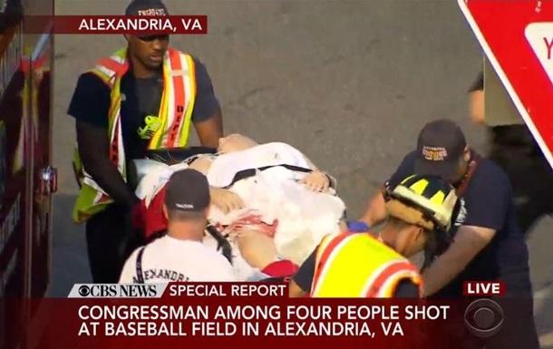 Стрілянина під Вашингтоном: поранений конгресмен