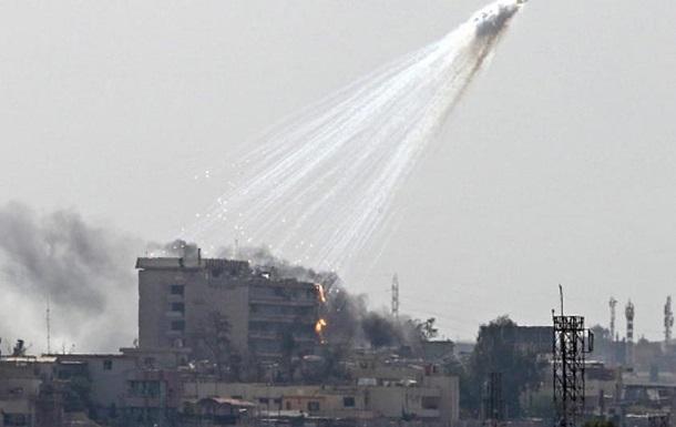 HRW: Коаліція США скинула фосфорні бомби в Сирії