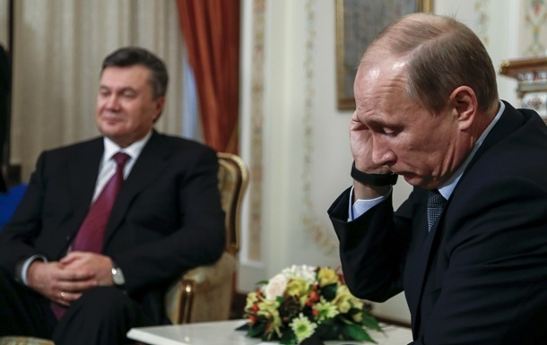 Захід просив РФ вплинути на Януковича - Путін