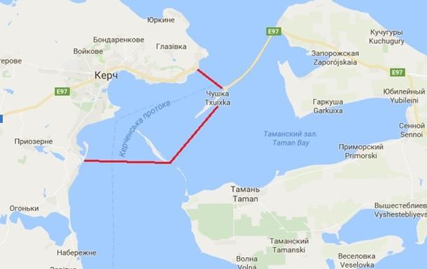 Росія частково перекриє Керченську протоку