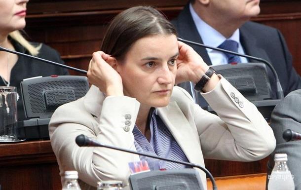 Прем єром Сербії вперше стане лесбіянка