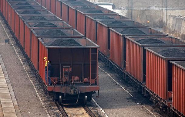Большая часть угля для Украины пришла из РФ