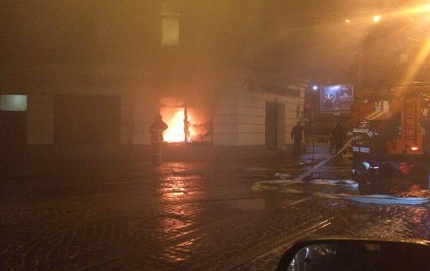 У Львові намагалися підпалити російські банки