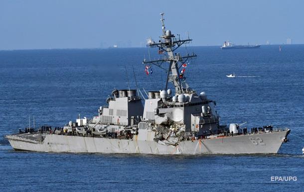 Зниклих моряків з есмінця США знайшли мертвими