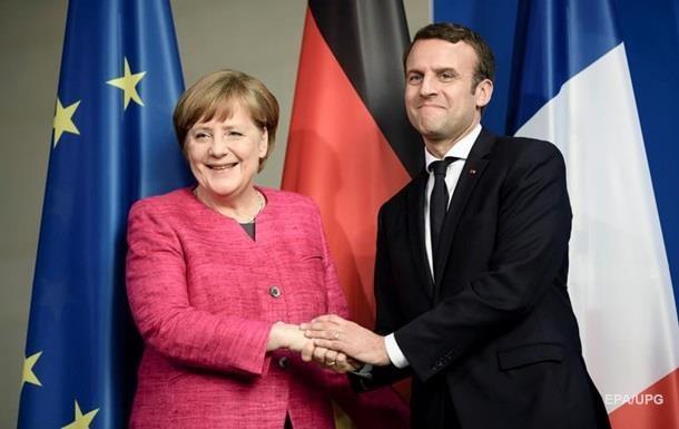 Вибори у Франції: Меркель привітала Макрона з перемогою