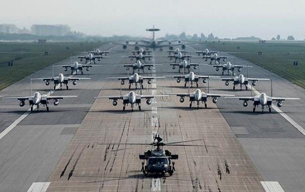 США змінять дислокацію літаків у Сирії