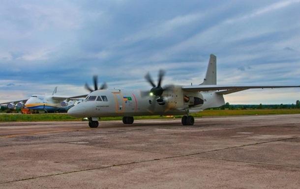 В Ле Бурже показали украинский Ан-132D