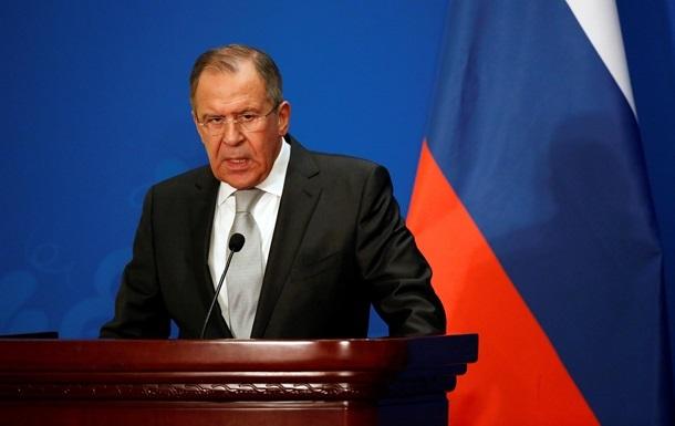 Лавров про санкції: Русофобия переходить усі межі