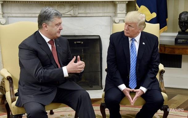 Не вірю у  змову  Трампа з Росією – Порошенко