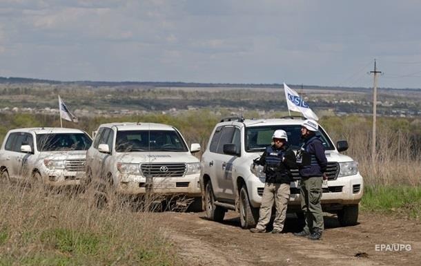 На Донбасі атакували представників ОБСЄ