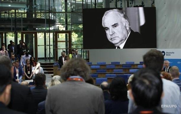 На згадку про Гельмута Коля в ЄС вперше проведуть жалобну церемонію