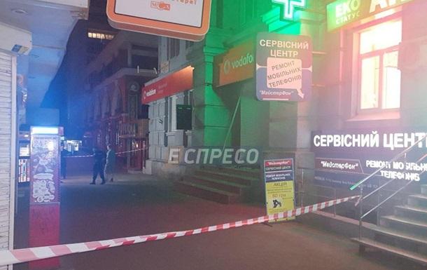 У Києві підірвали магазин стільникового зв язку